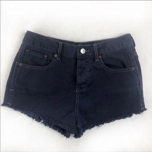 Brandy Melville high waist denim shorts size 27